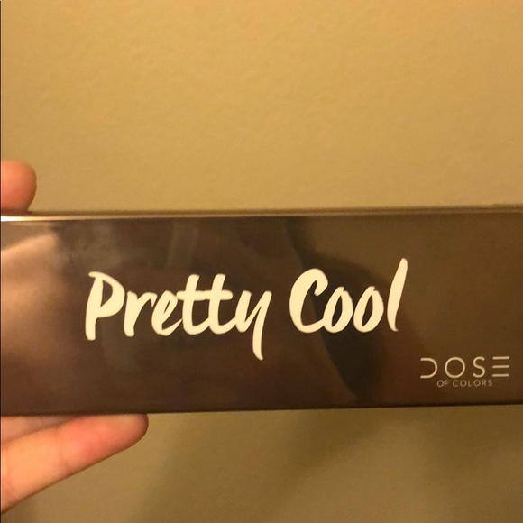 "Dose of Colors Other - Dose of colors ""pretty cool"" eyeshadow palette"